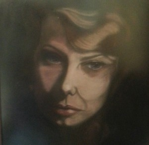 Self Portrait in pastel circa 1968