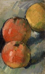 Paul Cezanne, Three Apples, 1878-79